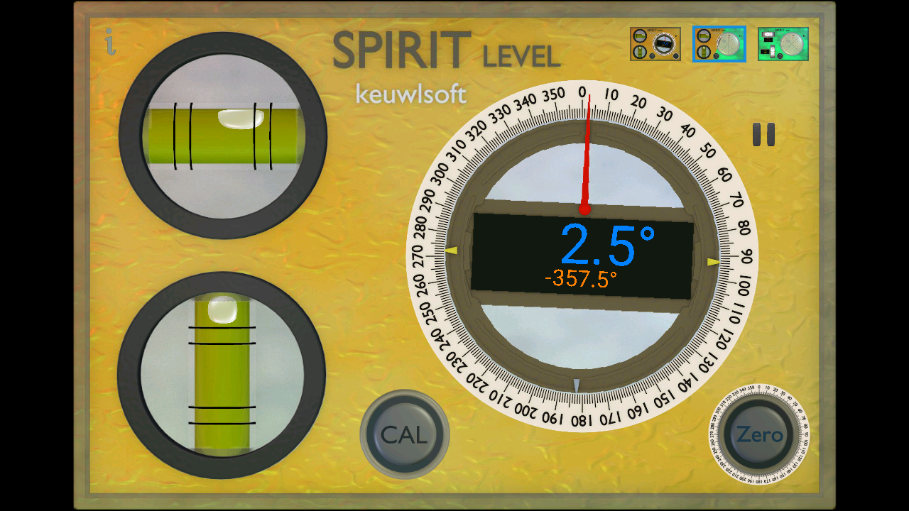 Spirit Level- screenshot