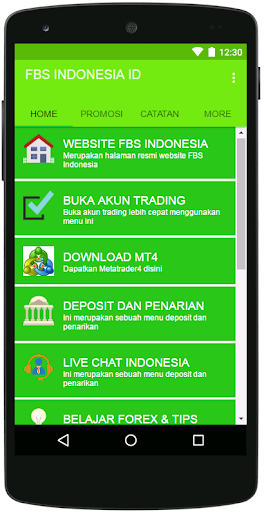 Download FBS INDONESIA ID Google Play softwares