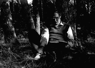 Photo: Święta Lipka 1987 Marek studiuje Księgi