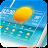 Transparent Weather & Clock App 2019 Icône