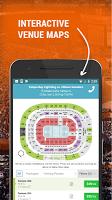 screenshot of Event Tickets Center