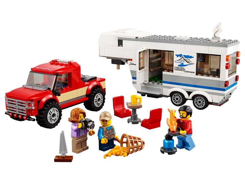 Contenido de Lego® 60182 Camioneta y Caravana