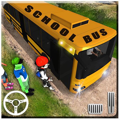 Baixar fora da estrada escola ônibus cidade transporte para Android