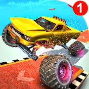 Monster Truck Derby Demolition: Destruction Stunts