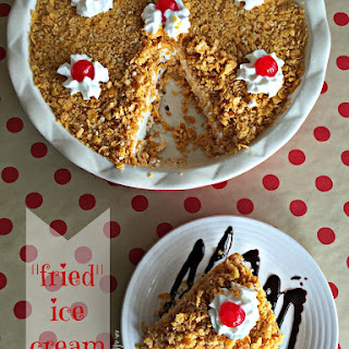 """Fried""Ice Cream Pie"