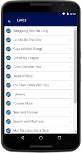 Jimmy Bondoc Songs Lyrics - náhled
