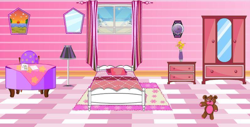 My room - Girls Games- screenshot