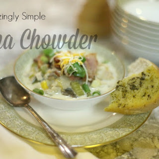 Simple and Delicious Tuna Chowder Recipe