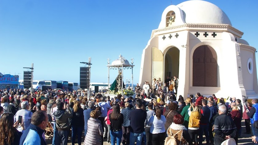 Imagen de la romería a Torregarcía de 2020.