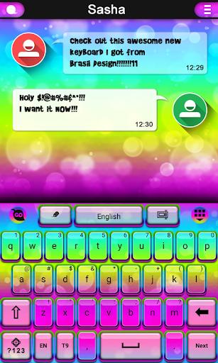 Dream Colors keyboard