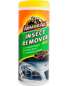 Insect remover wipes