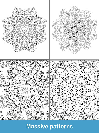 100+ Mandala coloring pages  screenshots 13