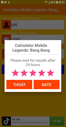 Diamond Mobile Legends: Bang Bang Calculate Free for PC