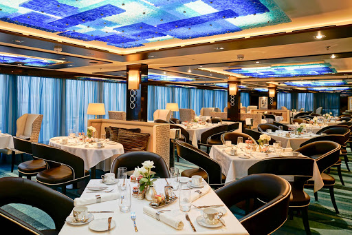 Norwegian-Escape-Haven-Restaurant - The Haven Restaurant serves unique signature dishes and wine offerings on board Norwegian Escape.