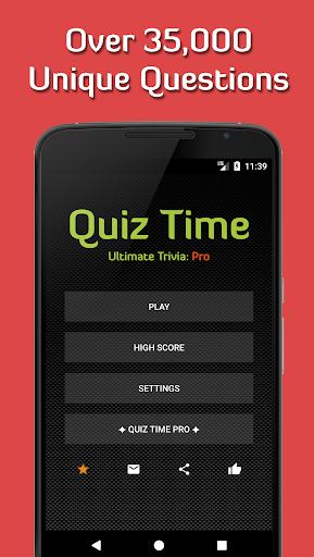 Quiz Time 2020: Ultimate Trivia [Free & Offline] 3.7.1 screenshots 1