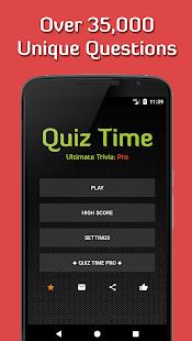 Quiz Time 2017: Ultimate Trivia [Free & Offline] - náhled