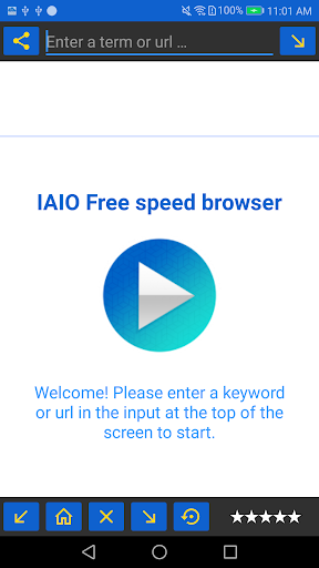 IAIO Free speed browser Descargar mu00fasica gratis 12.0 screenshots 4