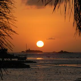 Paradise by Jason Asselin - Landscapes Sunsets & Sunrises ( water, jamaica, vacation, sunset, paradise )