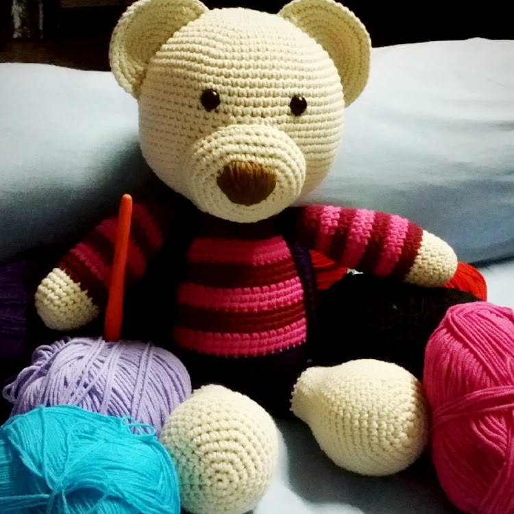 Colourful Bear by Bling365Days