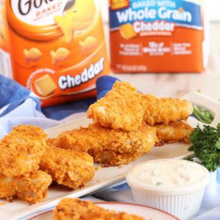 Crispy Baked Goldfish® Cracker Fish Sticks