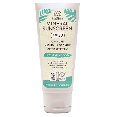 Suntribe All Natural Mineral Body & Face Sunscreen SPF 30