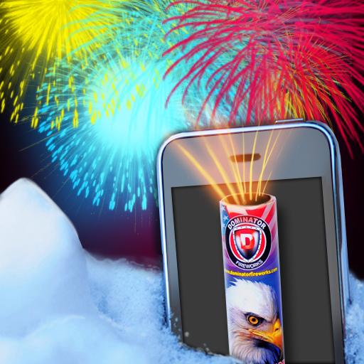 烟花爆炸模拟器 模擬 App LOGO-硬是要APP