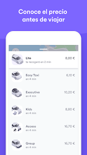 Cabify Screenshot