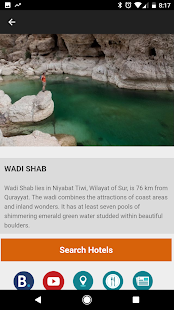 Oman travel guide Tristansoft - náhled