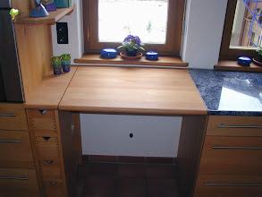 Photo: variable Küchenarbeitsplatte