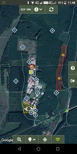 TraceForce: Captures d'écran MilSim Tracker & Map 1