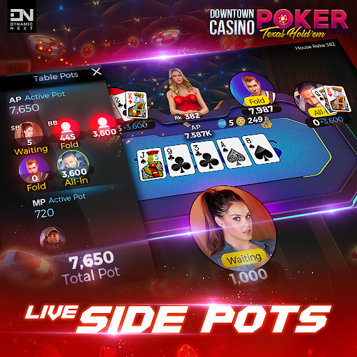 Free Poker Games : Downtown Casino - Texas Holdem  screenshots 6