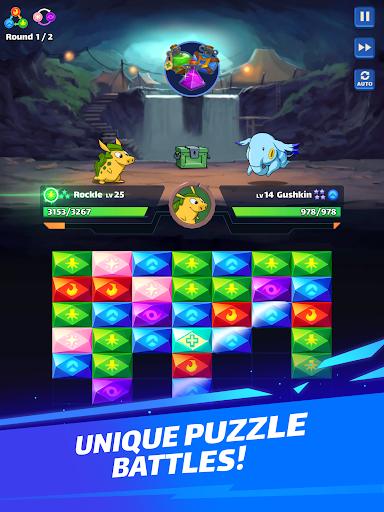 Mana Monsters: Legendary Puzzle Fighting Adventure apkmr screenshots 8