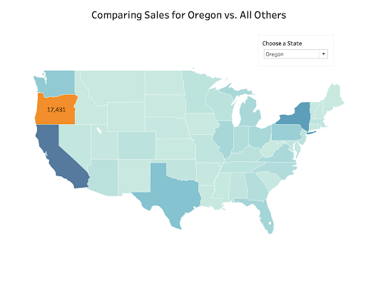 Tableau Tip Tuesday: Using Discrete & Continuous Colors on One Map