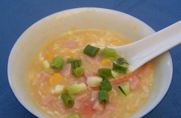 Golden Corn Soup Recipe