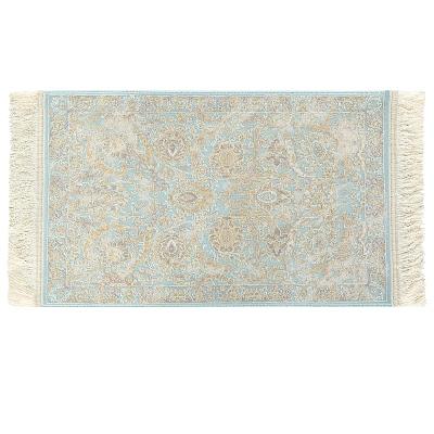 Ковёр 0.50х0.80 исфахан 1801 блю Ковровые галереи