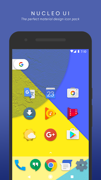 Nucleo UI – Icon Pack v7.8