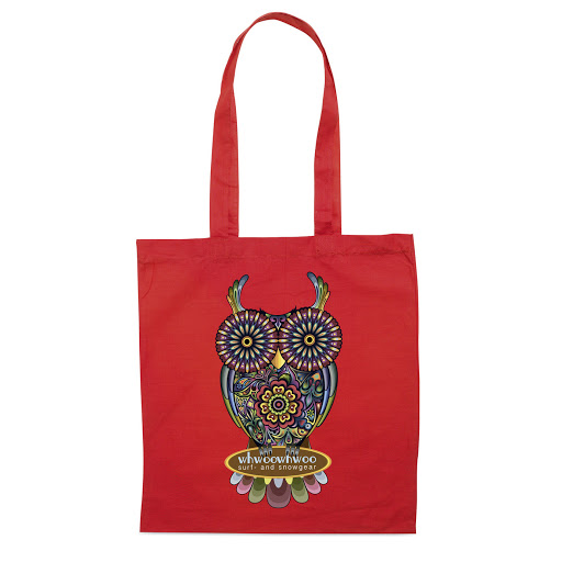 Budget Colour Cotton Shopper Bags to Brand