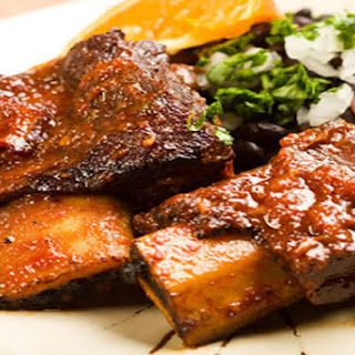Red Wine Braised Beef Short Ribs.