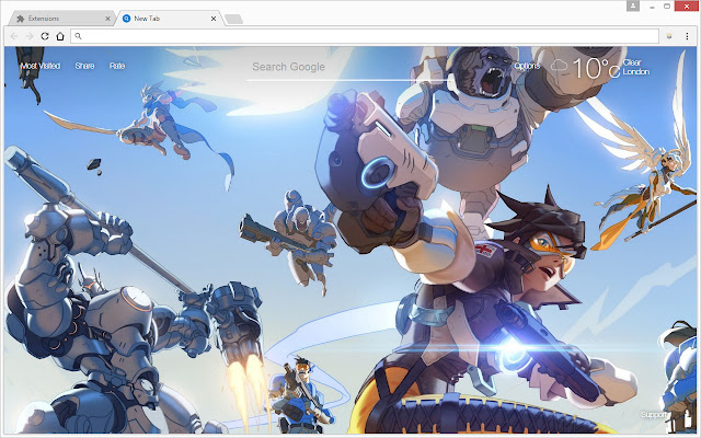 Overwatch Wallpapers Hd New Tab Themes