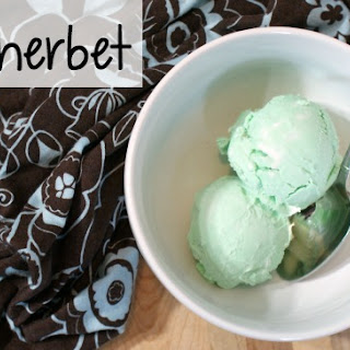 Dairy-Free Lime Sherbet