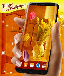 Tulips Live Wallpaper - náhled