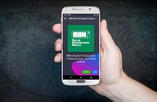 BBN Radio FM Espau00f1ol Cristiana App USA Free Online screenshots 1