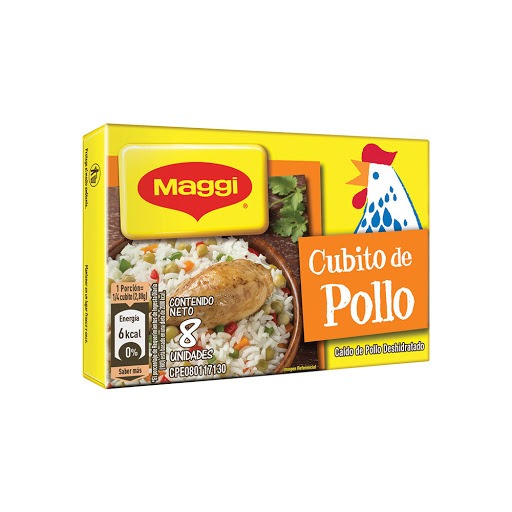Cubito Maggi Caldo Pollo 8Und