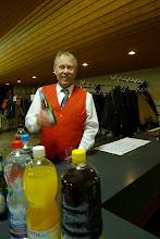 Photo: René Millet geniesst ein kühles Bier