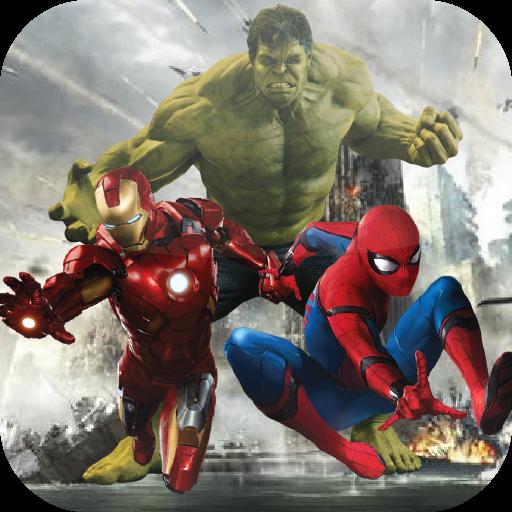 Guide Spider-Man IRONMAN Hulk Avenger 2 Fighting