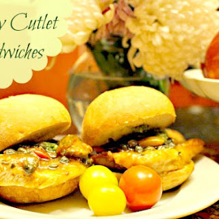 Turkey Cutlet Sandwiches