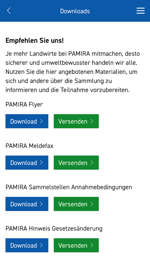 Pamira- screenshot
