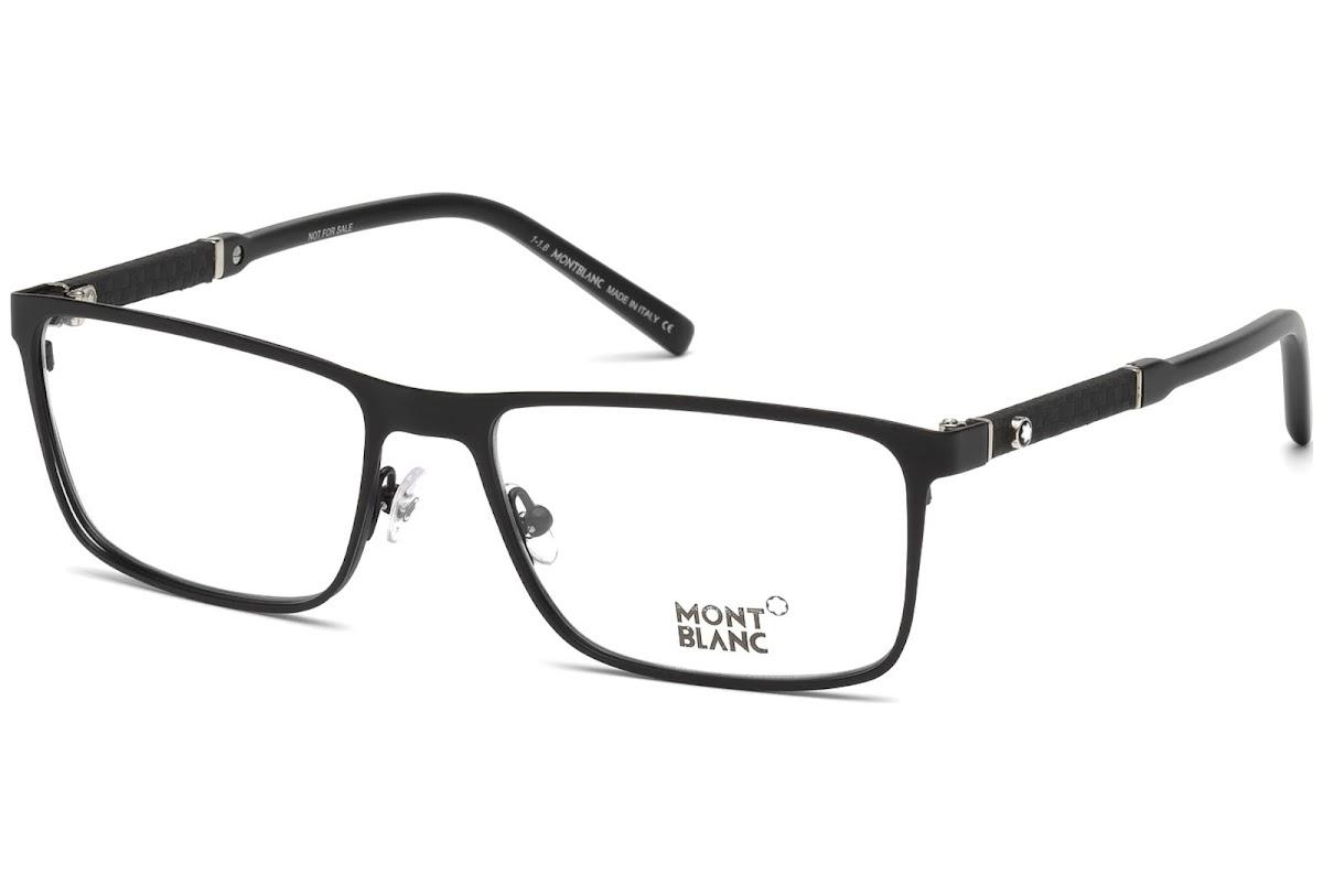 58ceeb9b3062ca Acheter Montures Optiques Montblanc MB0674 C56 002 (matte black   )    opti.fashion