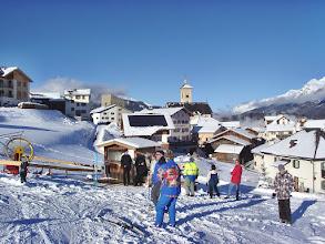 Photo: Stierva im Winter am Gratis-Skilift