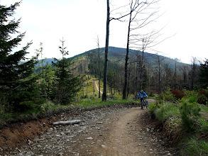 Photo: Szlak zielony pomiędzy Baranią Górą, a Malinowską Skałą to już taki mój osobisty klasyk, pierwszy raz jechałem go w tą stroną i jest równie przyjemnie :)